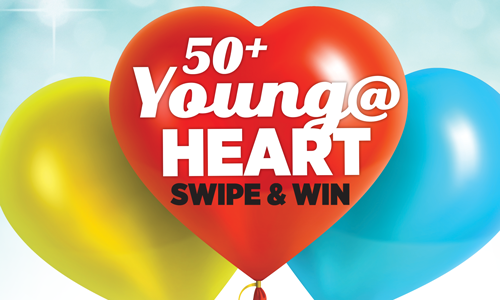 Young at Heart Swipe and Win