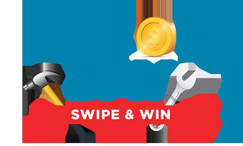 Labor Day Swipe & Win