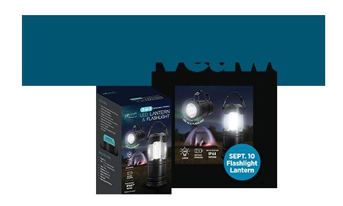Earn & Get Gift Giveaway (Flashlight Lantern)
